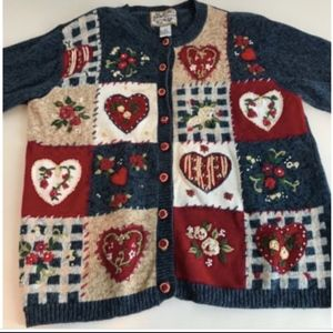 Heirloom Collectibles Sweaters Ugly Valentines Day Sweater Vintage